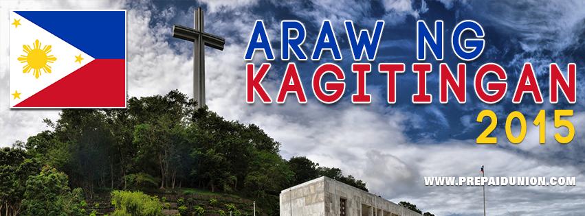 Araw ng Kagitingan ( Day of Valor)   PREPAID UNION